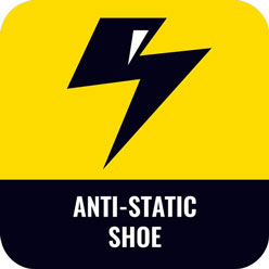 antistatic safety shoes icon